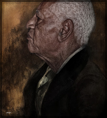 Elis Juliana, portret door Nicolaas Porter, gemaakt in opdracht van de Werkgroep Caraïbische Letteren.