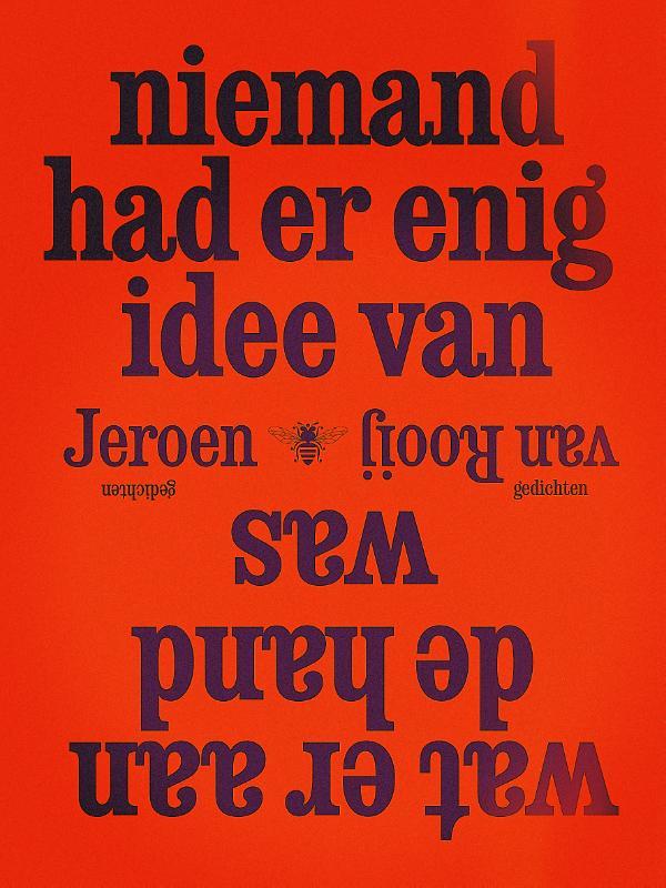 Niemand-had-er-enig-idee-van_omslag- Jeroen van Rooij