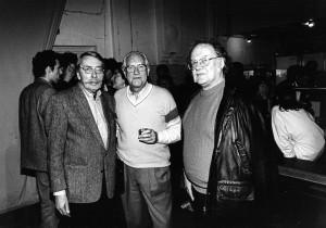 Foto door Roeland Fossen. Kouwenaar in Perdu 1995.
