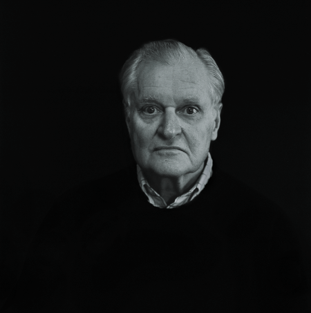 Photo of John Ashbery copyright © Lynn Davis.