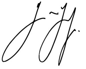 Günter Grass' handtekening